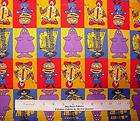 McDonalds Ronald and Friends in Squares Fabric Fat Quarter