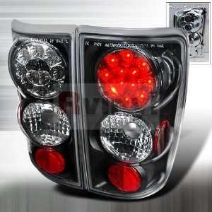 1999 2000 2001 2002 2003 2004 2005 LED Tail Lights   Black Automotive