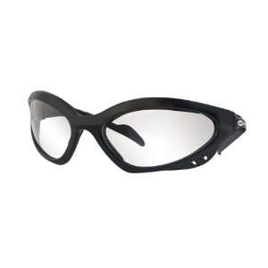 Miller 238979 Safety Glasses Clear Lens/Black Frame