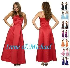 New Sexy Noble Bridesmaids Evening Dress Formal Long Prom Gown 6024 US