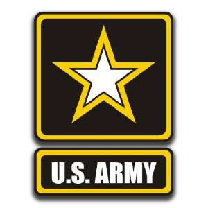 United States Army Star Logo Decal Sticker 5.5