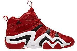 New Mens Adidas Sport CRAZY 8 Shoes Basketball Red Sneakers adizero
