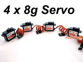 RC Timer Micro Servo 8g For Airplane/Helicopter