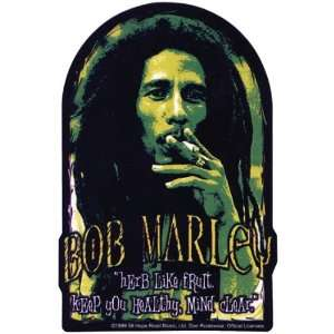 Bob Marley   Herb Arch Decal Automotive