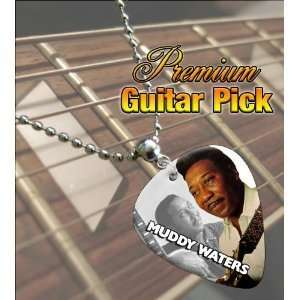 Muddy Waters Premium Guitar Pick Necklace Musical