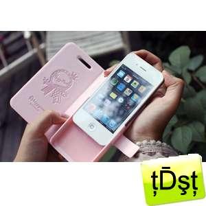 Happymori] Diary Type Rose Flower Flip Skin Leather Case Cover