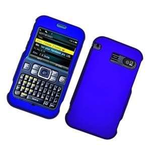 RUBBER BLUE HARD SNAP CASE COVER FOR SANYO JUNO 2700