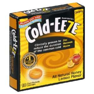 Cold Eeze, Lozenge Honey Lemon, 3.5 Ounce (12 Pack