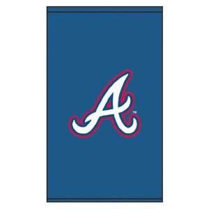 Roller & Solar Shades MLB Atlanta Braves Cap Logo A   Blue Backg