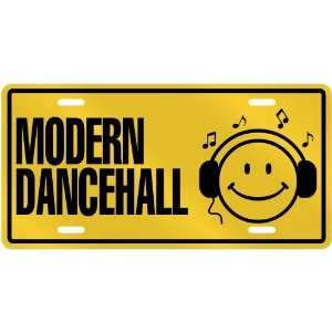 NEW  SMILE    I LISTEN MODERN DANCEHALL  LICENSE PLATE