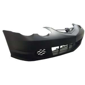 Acura RSX Primed Black Replacement Front Bumper Cover Automotive