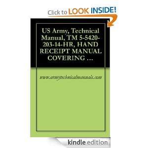 US Army, Technical Manual, TM 5 5420 203 14 HR, HAND RECEIPT MANUAL