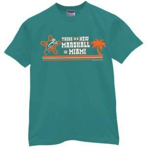 Brandon Marshall t shirt miami jersey dolphins LARGE
