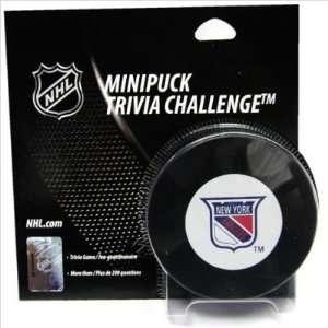 McWiz New York Rangers Mini Puck Trivia Challenge