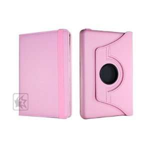 Case Star ® Pink dual view/multi angle FOLIO case/cover with flip