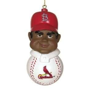 com St. Louis Cardinals Mlb Team Tackler Player Ornament (4.5 African