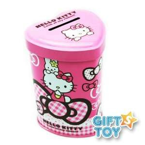Hello Kitty  Coin Bank with Lock and Keys (White) Toys & Games