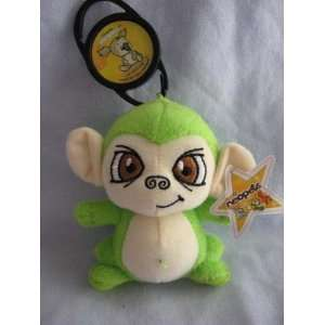 Neopets Green Mynci McDonalds Happy Meal Plush (2005) Toys & Games