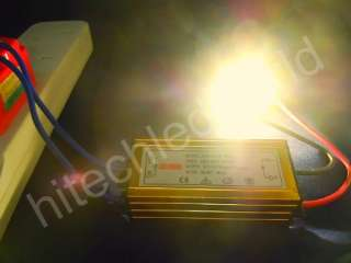 5p 10W HIGH POWER WARM WHITE LED Light 650Lm+LED DRIVER