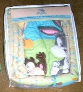 Looney Tunes Baby Boy Girl Crib Bedding Set 7+Mobile