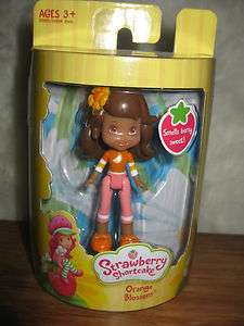Strawberry Shortcake Orange Blossom Mini Doll Toy Figure 653569621812