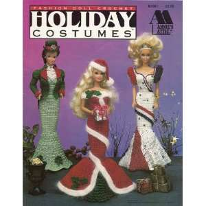 Annies Attic Fashion Doll Crochet Holiday Costumes Books