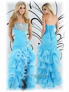 2012 Turquoise Xcite Prom Dress Wedding gown2 4