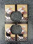 Fat Chef Kitchen decor outlet switch plate cover NEW