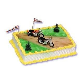 Motorcycle Cake Decorating Kit