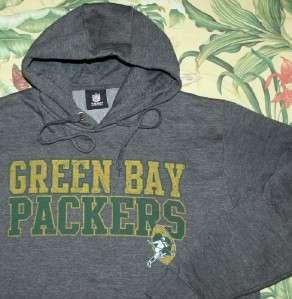 Mens GREEN BAY PACKERS NFL Throwback Hoodie Sweatshirt Large L