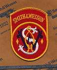 SMITH WESSON GUN LAPEL PIN/PATCH CLASSIC MOST RECOGNIZED PATCH