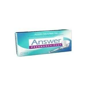 Answer One Step Pregnancy Test   1 Each Health & Personal