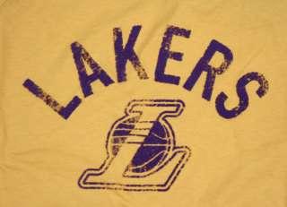 LOS ANGELES LAKERS WOMENS VINTAGE RAGLAN T SHIRT NBA L