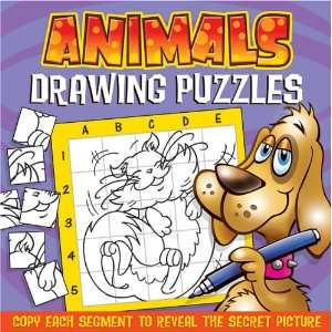 Animals (Drawing Puzzle Books) (9781846664304) Books