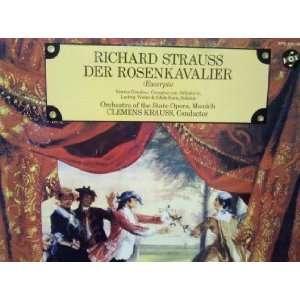 Richard Strauss Der Rosenkavalier Excerpts Vinyl Clemens