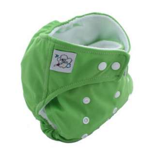 New 1 PCS One Size Adjustable Reusable Lot Cloth Diaper Nappies +1