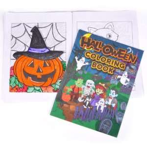 8 X 11 12 Page Halloween Coloring Book Case Pack 360