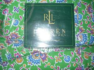 RALPH LAUREN~HAMPTON BEACH CLUB~QUEEN BEDSKIRT~NEW