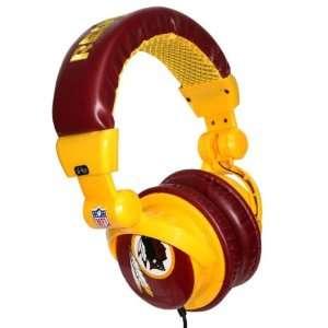 Washington Redskins NFL DJ Headphones Case Pack 12