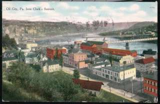 Area: Pennsylvania City: Clarks Summit 128491856_oil-city-pa-aerial-view-clarks-summit-bridge-antique-