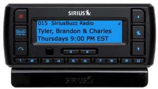 Sirius Stratus 5 Satellite Radio Receiver + Complete Vehicle Kit