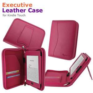 rooCASE Executive Leather Case Cover for  Kindle Touch Latest