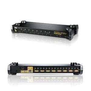 NEW USB Console KVM Controls 8 por (Peripheral Sharing