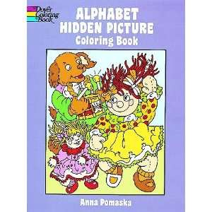 Alphabet Hidden Picture Coloring Book[ ALPHABET HIDDEN