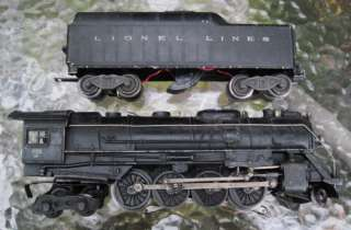 VTG LIONEL LINES TRAIN BLACK 726 STEAM LOCOMOTIVE TENDER SET~BERKSHIRE