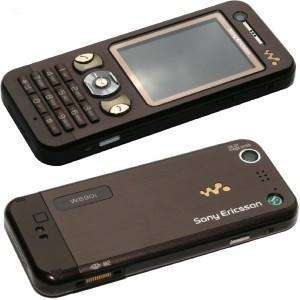 Unlocked Sony Ericsson W890i W890 Cell Phone RADIOBrown 7311271020905