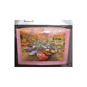 Disney Cars Girls Trifold Wallet   Pink Toys & Games