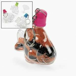 Art Bottle Key Chains   Craft Kits & Projects & Sand Art Toys & Games