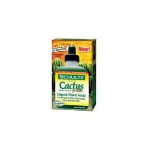 Cactus Plus Liquid Plant Food 4 fl.oz Patio, Lawn & Garden