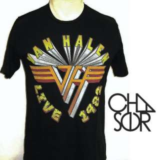 Shirt VAN HALEN 1982 Rock Concert Vintage Zac Efron Urban Outfitters S